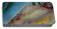 Portable Battery Charger featuring the digital art Inner Peace by Richard Laeton