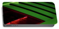 Lime Light Portable Battery Charger by Douglas Pittman