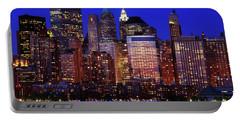 Lower Manhattan Portable Battery Charger by Rick Berk