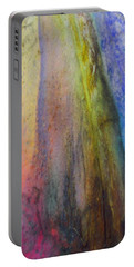 Portable Battery Charger featuring the digital art Move On by Richard Laeton