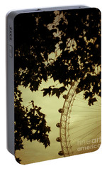 October Mist Portable Battery Charger by Jan Bickerton