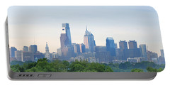 Philly Skyline Portable Battery Charger by Bill Cannon
