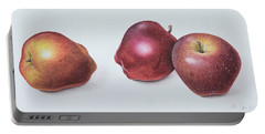 Red Apples Portable Battery Charger by Margaret Ann Eden