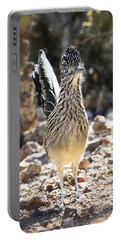 The Greater Roadrunner  Portable Battery Charger by Saija  Lehtonen