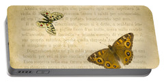 The Printed Page 1 Portable Battery Charger by Jan Bickerton