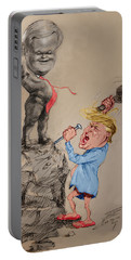 Trump Shaping Up The Future Portable Battery Charger by Ylli Haruni