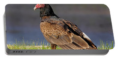 Turkey Vulture Portable Battery Charger by Robert Frederick
