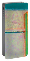 Portable Battery Charger featuring the digital art Up And Over by Richard Laeton