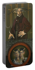 Willie Von Goethegrupf Portable Battery Charger by Patrick Anthony Pierson