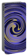 You Are Like A Hurricane Portable Battery Charger by Bill Cannon