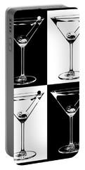 Classic Martini  Portable Battery Charger by Jon Neidert