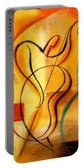 Jazz Fusion Portable Battery Charger by Leon Zernitsky