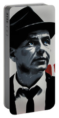 - Sinatra - Portable Battery Charger by Luis Ludzska