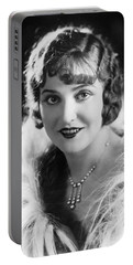 Actress Agnes Ayres Portable Battery Charger by Underwood Archives