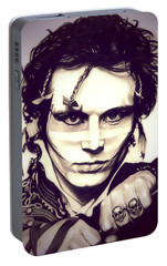 Adam Ant Portable Battery Charger by Fred Larucci