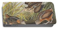American Woodcock Portable Battery Charger by John James Audubon