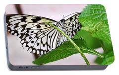 Paper Kite Butterfly No. 1 Portable Battery Charger by Sandy Taylor
