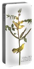 Children's Warbler Portable Battery Charger by John James Audubon