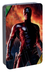 Daredevil Collection Portable Battery Charger by Marvin Blaine