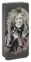 David Coverdale Portable Battery Charger by Melanie D