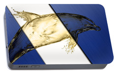 Dolphin Collection Portable Battery Charger by Marvin Blaine