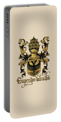 Emperor Of Germany Coat Of Arms - Livro Do Armeiro-mor Portable Battery Charger by Serge Averbukh