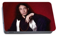 Ezra Miller Poster Portable Battery Charger by Best Actors