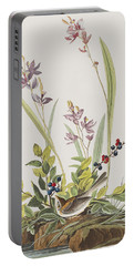 Field Sparrow Portable Battery Charger by John James Audubon