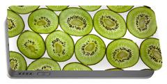 Kiwifruit Portable Battery Charger by Nailia Schwarz
