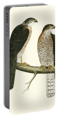 Levant Sparrow Hawk Portable Battery Charger by English School