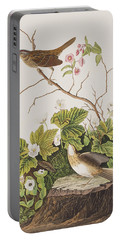 Lincoln Finch Portable Battery Charger by John James Audubon