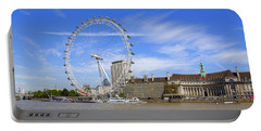London Eye Portable Battery Charger by Joana Kruse