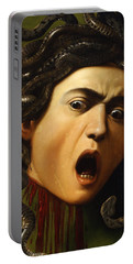 Medusa Portable Battery Charger by Caravaggio
