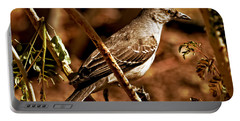 Mockingbird Portable Battery Charger by Robert Bales