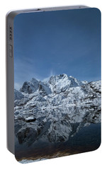 Mountain Reflection Portable Battery Charger by Frank Olsen