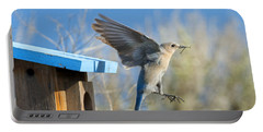 Nest Builder Portable Battery Charger by Mike Dawson