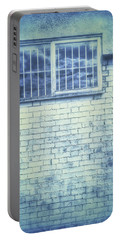 Old Window Bars Portable Battery Charger by Tom Gowanlock