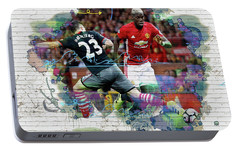 Pogba Street Art Portable Battery Charger by Don Kuing