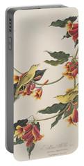 Rathbone Warbler Portable Battery Charger by John James Audubon