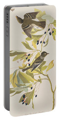 Small Green Crested Flycatcher Portable Battery Charger by John James Audubon