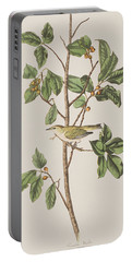 Tennessee Warbler Portable Battery Charger by John James Audubon