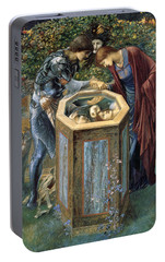 The Baleful Head Portable Battery Charger by Edward Burne-Jones