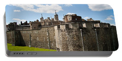 Tower Of London Portable Battery Charger by Dawn OConnor
