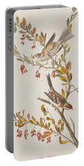 Tree Sparrow Portable Battery Charger by John James Audubon