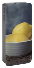 When Life Gives You Lemons Portable Battery Charger by Edward Fielding