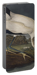 Wood Ibis Portable Battery Charger by John James Audubon
