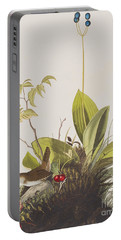 Wood Wren Portable Battery Charger by John James Audubon