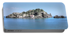 Aci Trezza - Sicily Portable Battery Charger by Joana Kruse