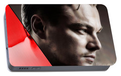 Leonardo Dicaprio Collection Portable Battery Charger by Marvin Blaine