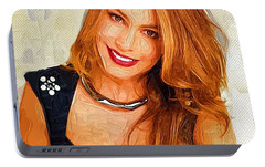 Actress Sofia Vergara  Portable Battery Charger by Best Actors